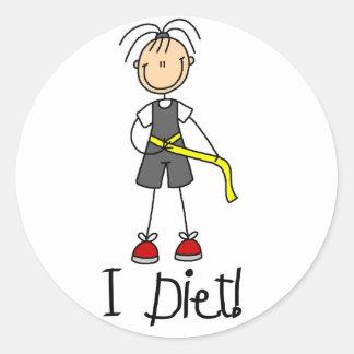 I Diet Sticker