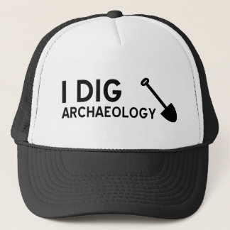I Dig Archaeology Trucker Hat