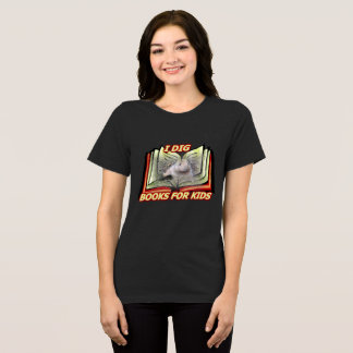 I Dig Books for Kids Gopher for Women T-Shirt