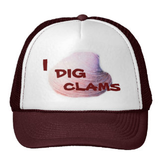 I DIG CLAMS HAT