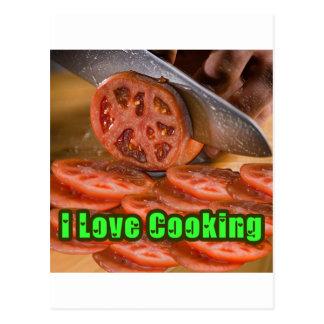 I Dig Cooking Recipes Postcard