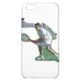 I Dig Tennis Doubles Cover For iPhone 5C