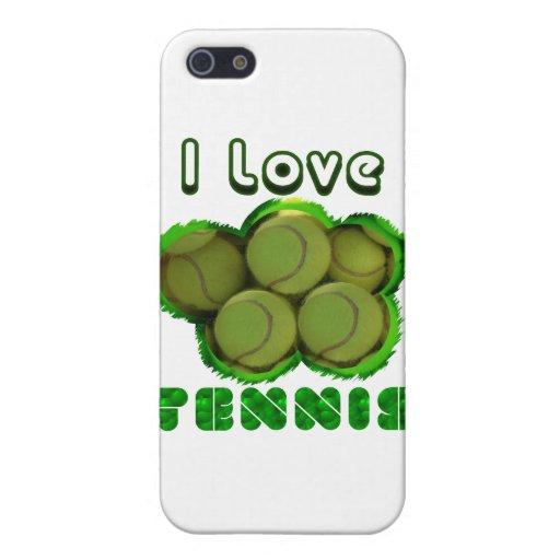 I Dig Tennis Grand Slam iPhone 5 Cases