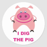 I Dig The Pig Sticker Sheet