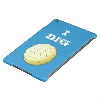 I Dig Volleyball Custom iPad Air Case