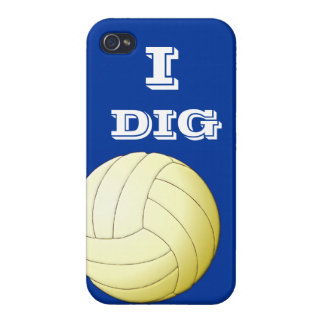 I Dig Volleyball  iPhone 4 iPhone 4 Cases