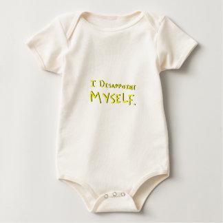 i disappoint myself baby bodysuit