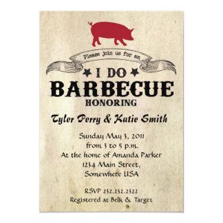 I Do Barbecue Card
