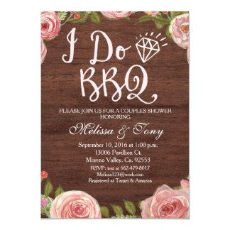 I Do BBQ Barbecue Shower Card