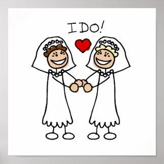 I Do Brides Poster