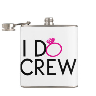 I-DO-CREW BACHELORETTE GEAR HIP FLASK