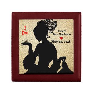 I Do! Engagement Keepsake Box