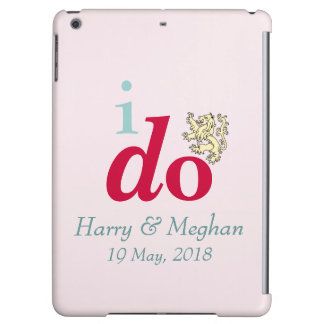 I DO Harry & Meghan Royal Wedding iPad Air Case