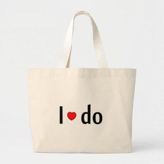 I Do Heart Bag