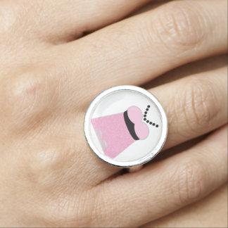 I Do, I Do Dress with ANY COLOR Accents Rings
