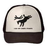 I Do My Own Stunts™  Horse: humourous picture of a