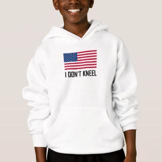 I Do Not Kneel American Flag National Anthem