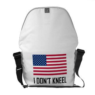 I Do Not Kneel American Flag National Anthem Commuter Bag