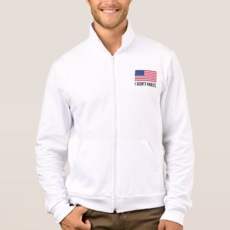 I Do Not Kneel American Flag National Anthem Jacket