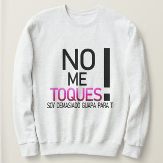 I do not touch myself! Sweater shirt for handsome