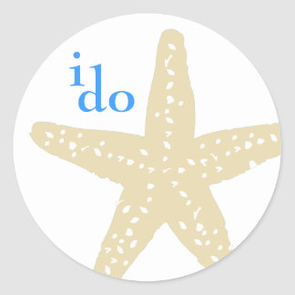 I Do Starfish Sticker
