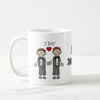I Do Two grooms Coffee Mug