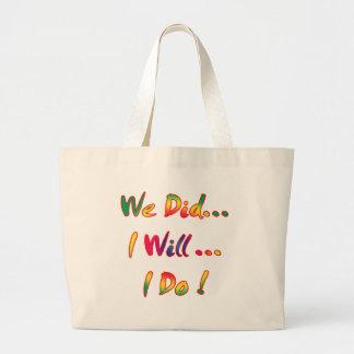 I Do Wedding Tote Bag