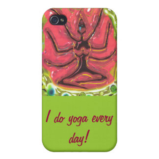 I do yoga every day! iPhone 4/4S cover