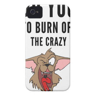 I Do Yoga To Burn Of The Crazy(2) iPhone 4 Case