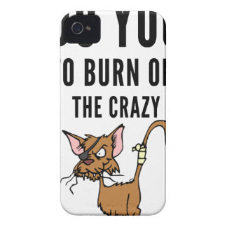 I Do Yoga To Burn Of The Crazy iPhone 4 Covers