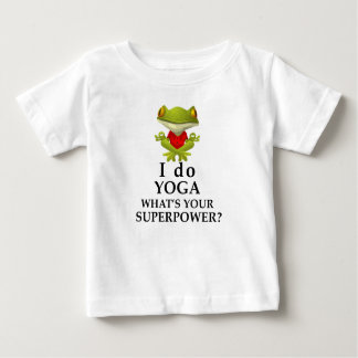 i do yoga what s your super power baby T-Shirt
