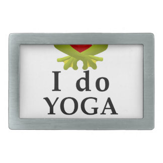 i do yoga what s your super power belt buckle