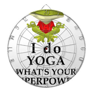 i do yoga what s your super power dartboard