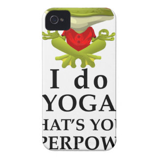i do yoga what s your super power iPhone 4 Case-Mate case