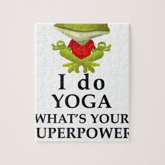 i do yoga what s your super power jigsaw puzzle