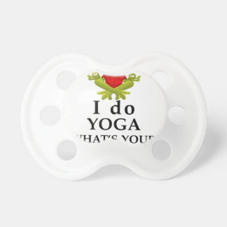 i do yoga what s your super power pacifier