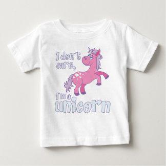 i don´t care i´m a unicorn baby T-Shirt