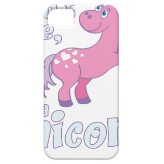 i don´t care i´m a unicorn iPhone 5 cases