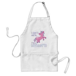 i don´t care i´m a unicorn standard apron