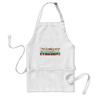 I don't need a recipe, standard apron