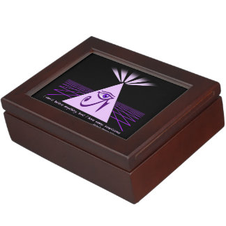 I don't believe anything Keepsake Box