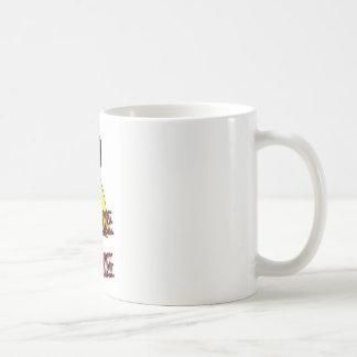I don't budge, only judge coffee mug