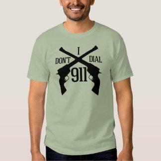 I Don't Dial 911 - Light Shirts