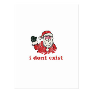I dont exist postcard
