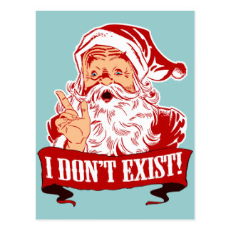 I Don't Exist, Santa Claus Postcards