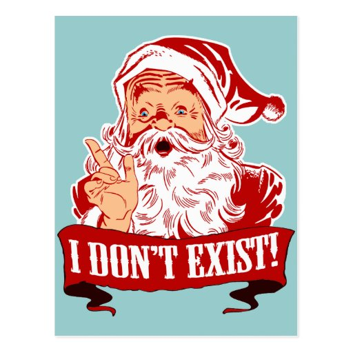 I Don't Exist, Santa Claus Postcards