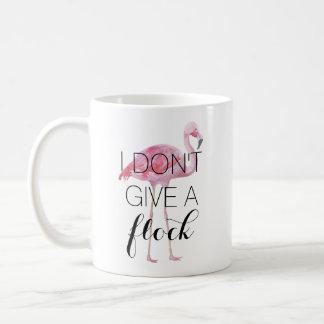 I Don't Give A Flock Flamingo Mug