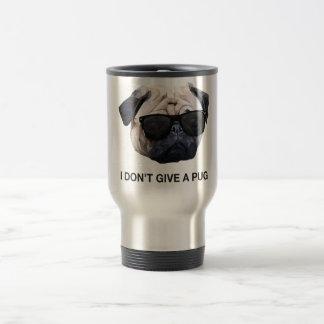 I Don't Give a Pug Travel Mug