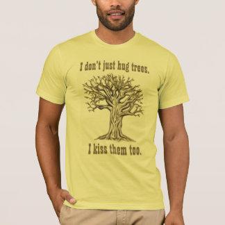 I Don't Just Hug Trees USA T-Shirt