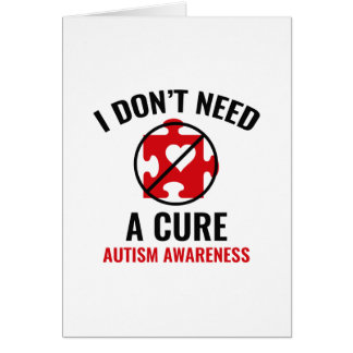 I Don't Need A Cure Card